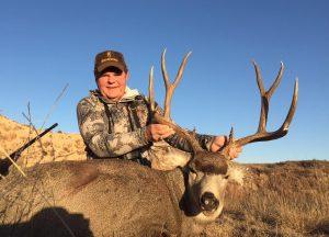 Reccord with Mule Deer